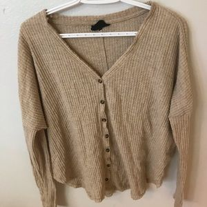 URBAN OUTFITTERS BUTTON SWEATER